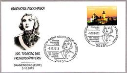 ELEONORE PROCHASKA - Soldado De PRUSIA Contra NAPOLEON. Napoleonic Wars. Dannenberg 2013 - Napoleón