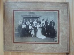PHOTO DE MARIAGE DE A. MICHEL SAINT-GERVAIS D'AUVERGNE PUY-DE-DÔME VERS 1930 - Anonieme Personen