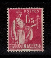 YV 289 N* (forte) Type Paix Cote 5 Euros - Unused Stamps