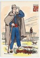CPSM 10.5 X 15 Costume Folklorique GASCOGNE Homme Illustrateur Margotton - Illustrators & Photographers