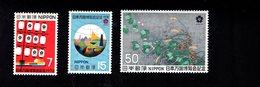 802321184 1970 SCOTT 1029 1030 1031 POSTFRIS MINT  NEVER HINGED EINWANDFREI (XX) EXPO 70 2ND ISSUE - 1926-89 Empereur Hirohito (Ere Showa)