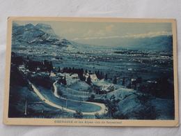 France  Grenoble   Et Les Alpes Vue De Seyssinet A 199 - Grenoble