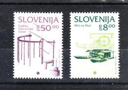Slovenia  - 1993. Mulino  E  Pompa A Vento. Mill And Wind Pump. MNH - Molinos