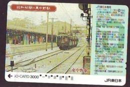 Carte Prépayée  Japon * TRAIN * JR * IO * CARD * (4857) Japan Prepaid Card * ZUG * Karte * TREIN * IO * - Eisenbahnen