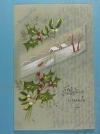 Celluloïd Bonne Année - Cartes Postales