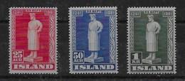 Sello De Islandia Nº Yvert 199/01 ** - 1944-... República