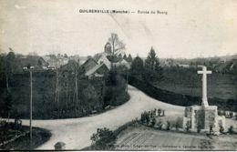 N°74300 -cpa Guilberville- Entrée Du Bourg- - Autres Communes