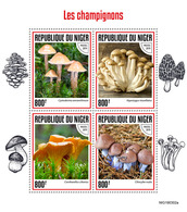 Niger. 2019 Mushrooms. (0302a)  OFFICIAL ISSUE - Funghi