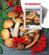 Niger. 2019 Mushrooms. (0302b)  OFFICIAL ISSUE - Funghi
