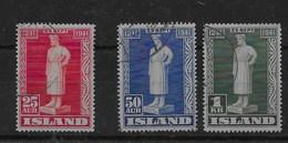 Serie De Islandia Nº Yvert 199/01 O - 1944-... República