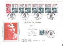 France FDC - Journée Du Timbre - Grand Format - 1995 - FDC