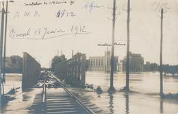 MAISON CARREE - CARTE PHOTO - INONDATION 1912 - Algerien