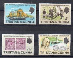 TRISTAN DA CUNHA  Timbres Neufs ** De  1971   ( Ref 559 B )  Explorateurs - Tristan Da Cunha