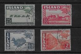Serie De Islandia Nº Yvert 220/23 O - 1944-... República