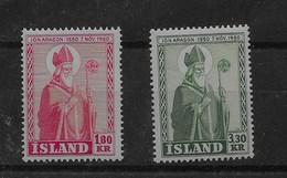 Serie De Islandia Nº Yvert 234/35 ** - 1944-... República
