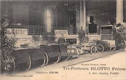 TRI-PORTEURS-BLOTTO FRERES- GRAND PALAIS 1906  5 RUE CHARLOT PARIS - Cartes Postales