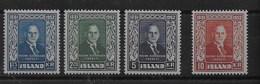 Serie De Islandia Nº Yvert 239/42 ** - 1944-... República