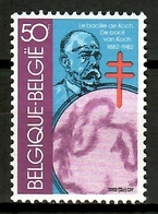 Belgium 1982 Bélgica / Medicine Robert Koch MNH Medicina / Cu12238  34-1 - Medicina