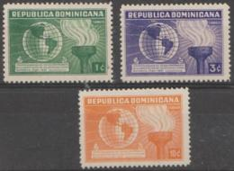 DOMINICAN REPUBLIC - 1939 Constitution. Scott 332-334. MNH ** - Dominican Republic
