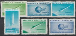 DOMINICAN REPUBLIC - 1964 Conquest Of Space. Scott 598-601, C135. MNH ** - Dominican Republic