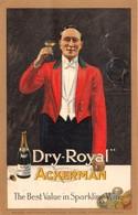 ALCOOL-DRY-ROYAL- ACKERMAN- - Werbepostkarten