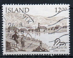 Iceland 1986 Single 12k Stamp From The Bi-centenary Of Reykjavik Set. - 1944-... Republic