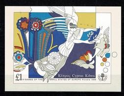 Cyprus 1989 Yv BF 14**, Mi Bl 14**  MNH Cat. Yv 10,00 - Chypre (République)