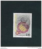 N° 2984 La Cathédrale D'Évry - Cachet Rond 2.80 Frs   Oblitéré Timbre  FRANCE 1995 - France