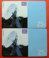 Serie BW-62-0,1..., German Army In Kosovo Lot Of 2 Prepaid Phone CARD 25 Euro Used Operator KBIMPULS *Satellite* - Kosovo