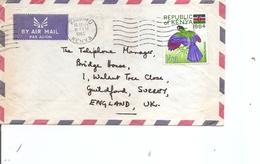 Kenya ( Lettre Par Avion De 1965 De Kisumu Vers La Grande-Bretagne à Voir) - Kenya (1963-...)
