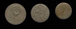 U.R.S.S. 1 Rouble 15 Kopeks 20 Kopeks - Monnaies