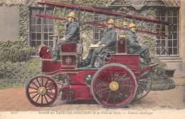 SERVICE DES SAPEURS POMPIERS DE LA VILLE DE PARIS - VOITURE ELECTRIQUE - Sapeurs-Pompiers