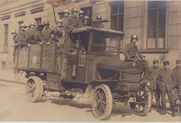 CARTE PHOTO Prise à BERLIN  Fin De La Guerre - Allemagne