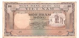 Billets - 100 Dong - 1966 -  Billets° - Vietnam