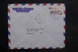 CÔTE DES SOMALIS - Enveloppe De Djibouti Pour La France En 1966 , Affranchissement Plaisant - L 35084 - Côte Française Des Somalis (1894-1967)