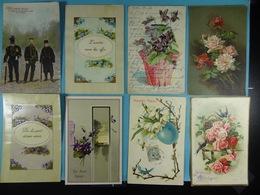 Lot De 100 CPA Fantaisies - Cartes Postales