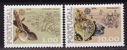 Portugal, 1976, Europa CEPT, Europe, Art, Crafts, 2 Stamps - Europa-CEPT