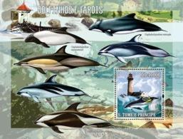Sao Tome 2006 Fauna Dolphins & Lighthouses - Sao Tome And Principe