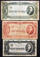 RUSSIA 1+3+5 RUBLI 1937  LOTTO 640 - Russia