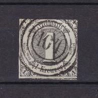 Thurn Und Taxis - 1852/58 - Michel Nr. 7 - Gest. - 15 Euro - Thurn Und Taxis