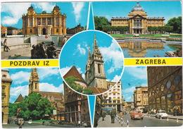 Zagreb: OPEL KADETT B, ZASTAVA 600  - (Croatia, YU.) - Toerisme