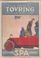 Rivista Mensile Del Touring Club Italiano  1915 Illustratore Dudovich - Prime Edizioni