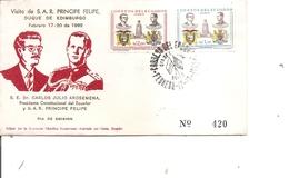 Equateur ( FDC De 1962 à Voir) - Equateur