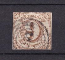 Thurn Und Taxis - 1862/64 - Michel Nr. 34 - Gest. - 22 Euro - Thurn Und Taxis