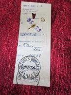 P.T.T RÉCÉPISSÉ TALON DE MANDAT CHEQUE POSTAUX LILLE CAD 1954  France  Documents De La Poste Télégraphe Téléphone - Documents Of Postal Services