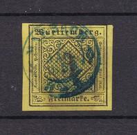Württemberg - 1851 - Michel Nr. 2 - Gest. - Wuerttemberg