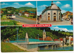 Kostajnica : 3x AUTOBUS/COACH - (Croatia, YU.) - 1974 - Buses & Coaches