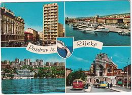 Rijeka : 3x AUTOBUS/COACH - Salonboot  - (Croatia, YU.) - 1967 - Buses & Coaches