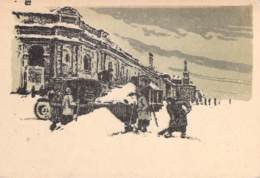 WWII WW2 Original Postcard Soviet URSS Patriotic Propaganda FREE STANDARD SHIPPING WORLDWIDE (1) - Russland