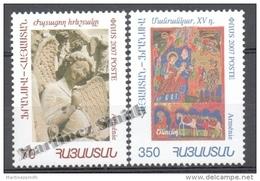 Armenia - Armenie 2007 Yvert 542-43, Art. Religious Works - MNH - Armenia